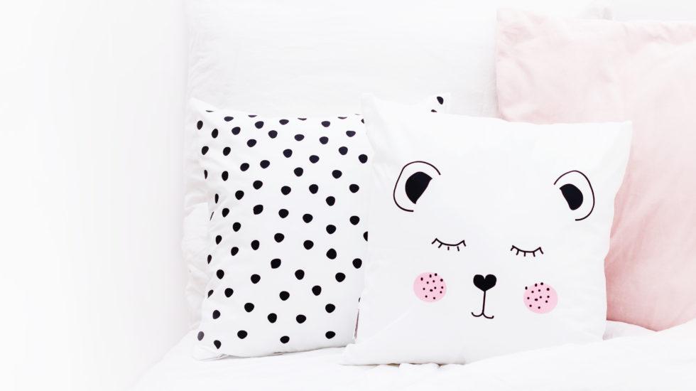 Eulenschnitt Kissen