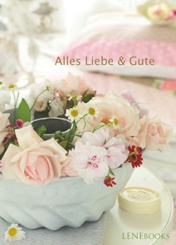 Lenebooks Postkarte Alles Liebe & Gute DIN A6