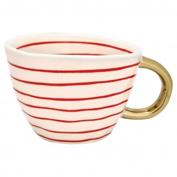 Henkeltasse Sally Red Greengate