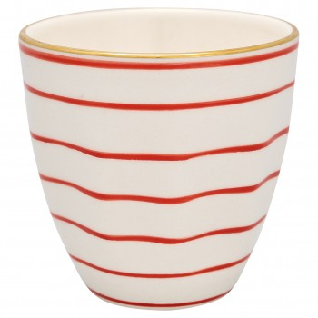 Latte Cup Sally Red - Greengate