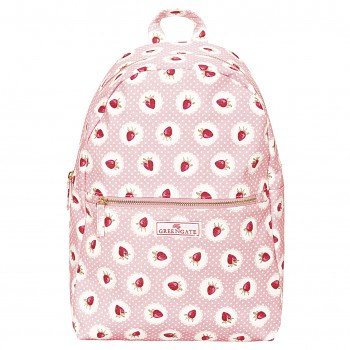 Greengate Rucksack Strawberry Pale Pink
