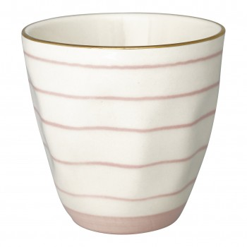 Latte Cup Sally Pale Pink - Greengate