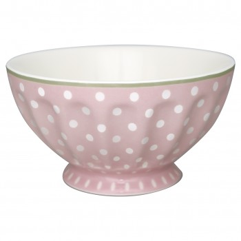 Greengate Schale French Bowl XL Spot Pale Pink