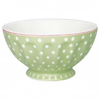 Greengate Schale French Bowl XL Spot Pale Green