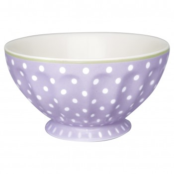 Greengate Schale French Bowl XL Spot Pale Lavendar