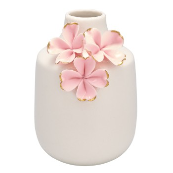 Vase Flower Pale Pink 11,5cm Greengate