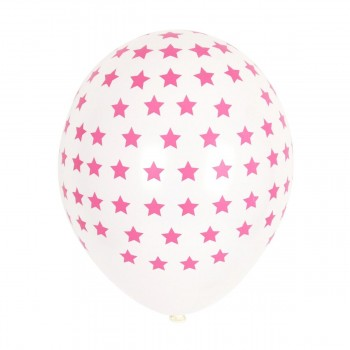 Luftballon Sterne MY LITTLE DAY// 5er Set // pink