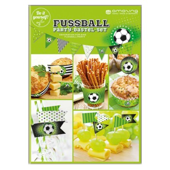 Fussball Party Bastel Set