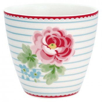 Latte Cup Lily White - Greengate