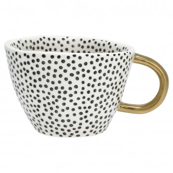 Henkeltasse Dot Black - Greengate
