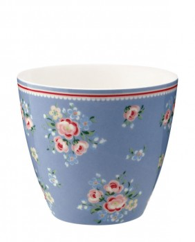Latte Cup Nicoline Dusty Blue - Greengate