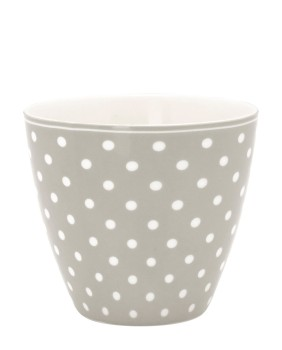 Latte Cup Spot Grey - Greengate