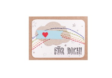 Mini Kärtchen Für Dich - Good old friends