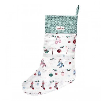 Weihnachtssocke Jingle Bell White - Greengate