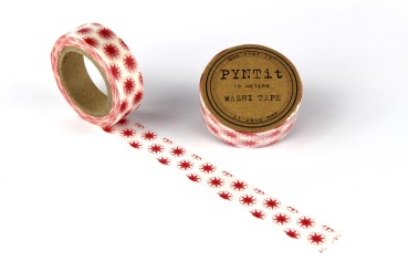 Masking/Washi Tape Red Snow