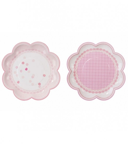 Pappteller Talking Tables Pink Mix 8er Set