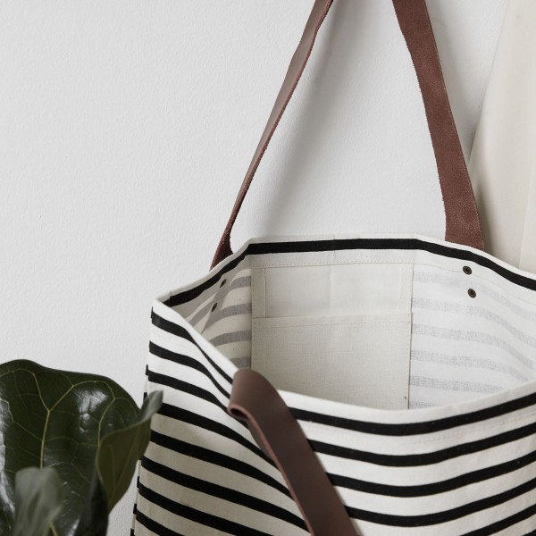 house doctor tasche stripes