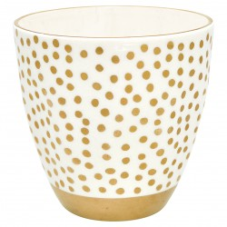 Latte Cup Dot Gold - Greengate