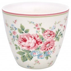 Latte Cup Marley White - Greengate